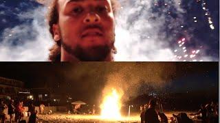 Video FIREWORK BATTLES PART 2 -POLICE ATTACK - BEACH ON FIRE MP3, 3GP, MP4, WEBM, AVI, FLV Desember 2018