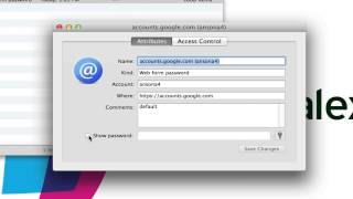 Keychain Access on Mac OS X - Tutorial and Introduction