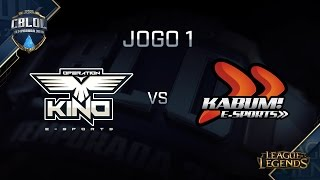 Kino vs KaBuM, game 1