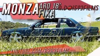 GM Chevrolet Monza aro 18 ENTERRADO NA FIXA   R.Dois93Films