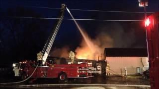 Oelwein (IA) United States  city images : Luigi's Restaurant fire, Oelwein, Iowa, Nov. 12, 2016,