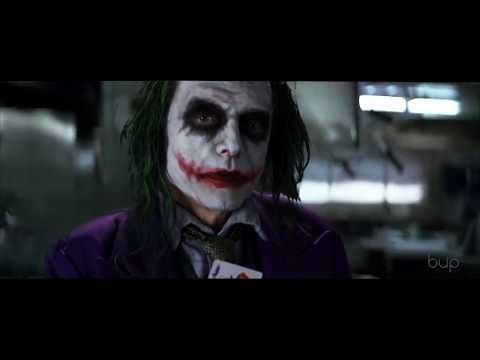 Tommy Wiseau's Joker edited into the Dark Knight