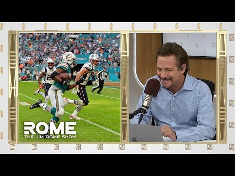 Video: Miami Defeats the Patriots on Miracle Play | The Jim Rome Show