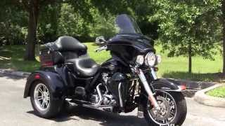 3. Used 2012 Harley Davidson Trike 3 wheeler  Tri Glide Motorcycles for sale