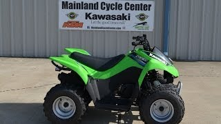 7. $2,749:  2014 Kawasaki KFX90  Youth ATV Review