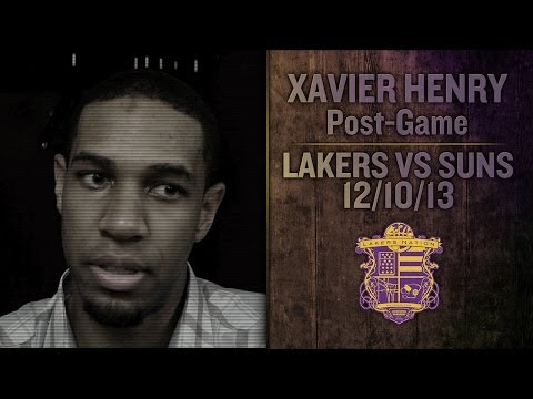Video: Lakers Vs Suns: Xavier Henry Says Lakers Have Been Stagnant Since Kobe's Return