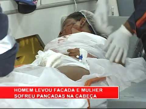 [RONDA GERAL] Casal ferido é socorrido em estado grave