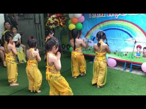 Lễ Khai Giảng Năm Học 2020-2021 || Múa Ấn Độ khối Lá