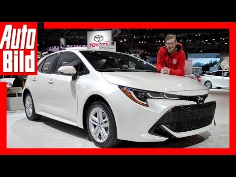 Toyota Corolla / Auris (NYIAS 2018) Sitzprobe/Revie ...