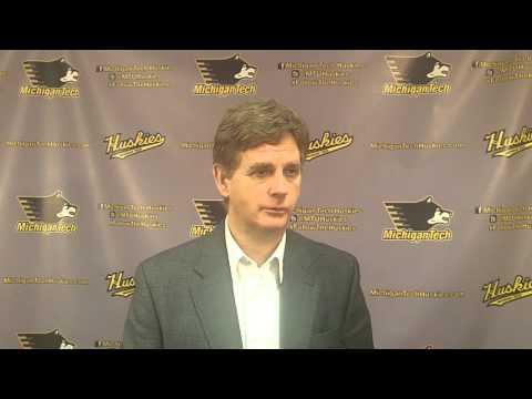 Coach Pearson Postgame Interview vs. Alaska 2-14-14