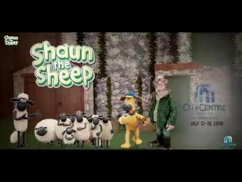 Shaun the Sheep at City Centre Muscat