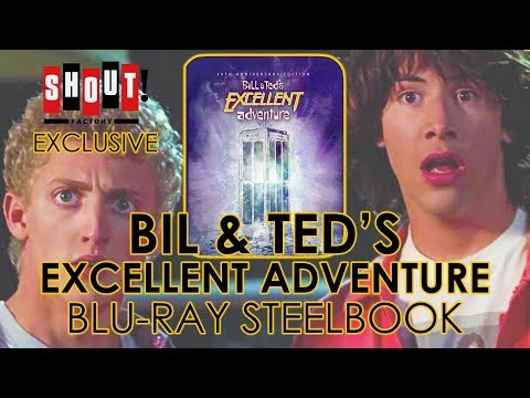 Bill & Ted's Excellent Adventure (1989) Blu-ray Steelbook Unboxing (4K Video)