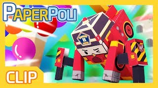 The highlight of balloons! enjoy~[PAPER POLI] AUTO PLAY (English): http://goo.gl/Z36ZSU[종이종이 폴리] 연속보기 (한국어): http://goo.gl/s0GQkc ▼▼▼▼▼▼ Please click on the READ MORE ▼▼▼▼▼▼Super transforming Robocar rescue team is here to save our neighbors and friends from dangers.There are always accidents and troubles in Broom's town. But, in the every moment of crisis, there is our super Robocar rescue team to save the cars and people from the dangerous situation.They are Super police car POLI and his team-mate, fire-truck ROY, ambulance AMBER, Helicopter HELLY and operator girl JIN.Through the rescue process of each episode, children get to know the daily safe tips, and the happiness and preciousness when they help others by POLI and his friends of Broom's town.Connect with Robocar POLI:Visit the Robocar POLI WEBSITE:http://www.robocarpoli.com/Like Robocar POLI on FACEBOOK:https://www.facebook.com/robocarpoli.korFollow Robocar POLI on INSTAGRAM:http://instagram.com/robocarpoli.offi...Here we go rescue of you!https://www.youtube.com/robocarpoliCOPYRIGHT ⓒ ROI VISUAL / EBS