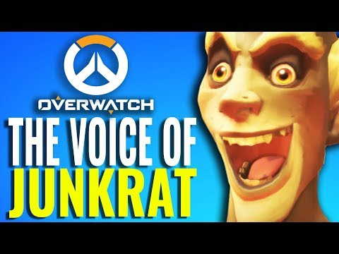 Why Junkrat from Overwatch sounds so familiar