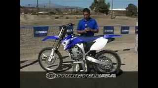 7. 2007 Yamaha YZ250F First Ride - MotoUSA