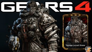 """Gears of War 4 Savage Drone Gameplay Savage Locust DLC Character!●Gears of War 4 Savage Locust Packs Opening: http://bit.ly/2urUg9X●Gears of War 4 Savage Locust Grenadier Elite Gameplay: http://bit.ly/2tWQQsCWelcome back to another Gears of War 4 Video! Today's video we are going to be showcasing Gears of War 4 Savage Drone Character Gameplay. Within Gears of War 4 Savage Drone can only be obtained in the DLC Gears of War 4 Savage Locust Pack. Overall the Gears of War 4 Savage Locust Packs contain multiple Gears of War 4 Multiplayer Characters including Gears of War 4 Savage Locust Grenadier, Gears of War 4 Savage Locust Grenadier Elite, Gears of War 4 Civilian Anya as well as Gears of War 4 Savage Drone as seen in this video.SUBSCRIBE to stay up to date with the latest """"Gears of War 4 - Gears of War Ultimate Edition"""" (GOW) information!•Twitch: http://www.twitch.tv/sasxsh4dowz•Twitter: https://twitter.com/SASxSH4DOWZ•Facebook: https://www.facebook.com/SASxSH4DOWZ●Intro by Monsty - https://www.youtube.com/user/monstyARTSSubscribe for more videos! - Shadowz---Video upload by SASxSH4DOWZ (Shadowz Gears of War)Gears of War 4 © Microsoft Corporation. """"Gears of War 4 - """"Savage Drone"""" Character Multiplayer Gameplay!"""" was created under Microsoft's """"Game Content Usage Rules"""" using assets from Gears of War 4 and it is not endorsed by or affiliated with Microsoft.Microsoft Content Usage Rules: http://www.xbox.com/en-US/developers/..."""