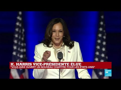 USA#Harris #Biden REPLAY - Discours de Kamala Harris, vice-présidente élue des États-Unis