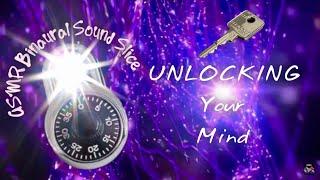 ASMR Binaural Sound Slice | Unlocking Your Mind For SLEEP | Heather Feather INSPIRATION