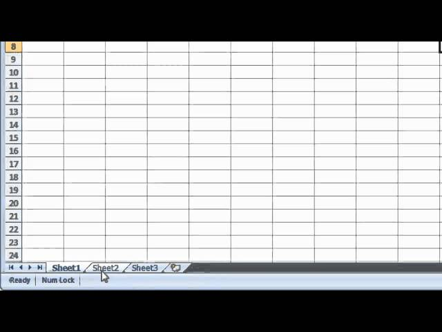 how to create sub tabs in excel