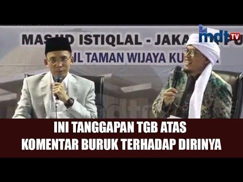 Download Video TGB Tanggapi Hinaan Terhadap Dirinya Setelah Pilihan Politik Yang Diambilnya