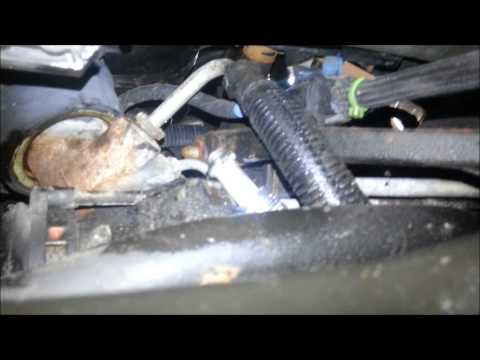 Pontiac Grand AM high pressure powersteering line replacement