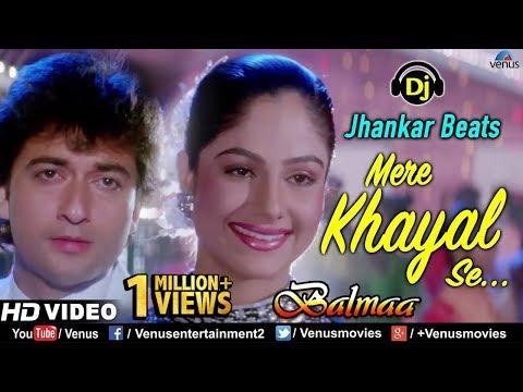 Mere Khayal Se- JHANKAR BEATS   HD VIDEO   Balmaa   Ayesha Jhulka  90's Best Bollywood Romantic Song