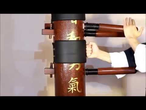 Wooden Dummy Wing Chun Spring Hand Wood Master