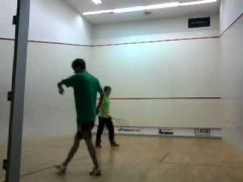 Amateur squash match 2012