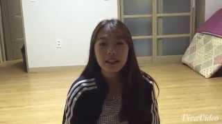 my korean friend has got the cutest luganda accent. here's what she's saying; erinya lyange Choi Ji Hyun nina emyak 20 nva Korea ...............................