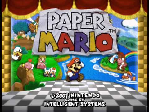 Paper Mario- Forever Forest OST