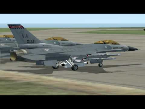 Lock-On : F16 Vs MIG29 Dogfight