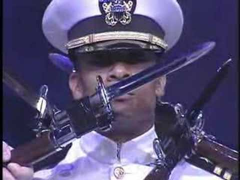 honor - The uncut and full version of the performance of the US Navy Presidential Ceremonial Honor Guard Drill Team at Norway.
