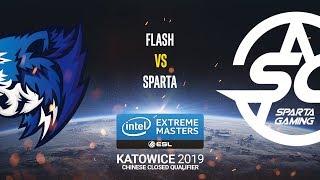 Flash vs. Sparta - IEM Katowice 2019 Closed Minor China QA - map1 - de_inferno [SSW]