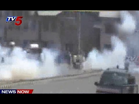 Anti Israel protest turns violent in Srinagar : TV5 News