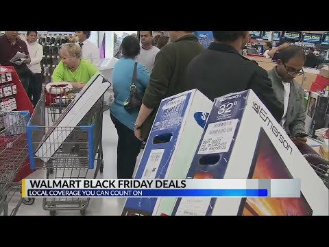 Wal-Mart releases Black Friday specials
