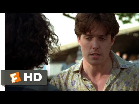 Four Weddings and a Funeral (9/12) Movie CLIP - I Think I Love You (1994) HD