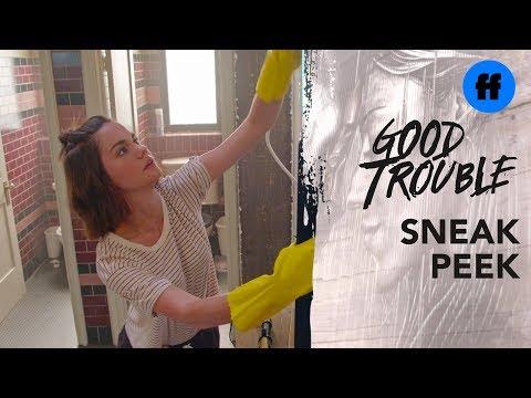 Good Trouble Season 1, Episode 5 | Sneak Peek: Cleaning The Coterie | Freeform