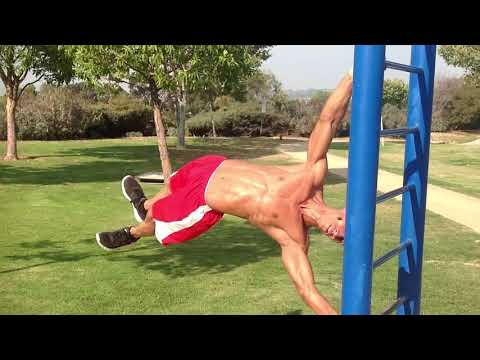 Frank Medrano performs his Vegan Calisthenics for Vegan Health & Fitness Magazine!