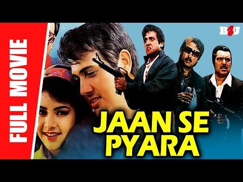 Jaan Se Pyara (1992) | Hindi Full Movie | Govinda, Divya Bharti | Full HD 1080p