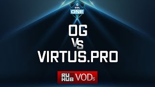 OG vs Virtus.pro, ESL One Genting Quals, game 4 [NS, 4ce]