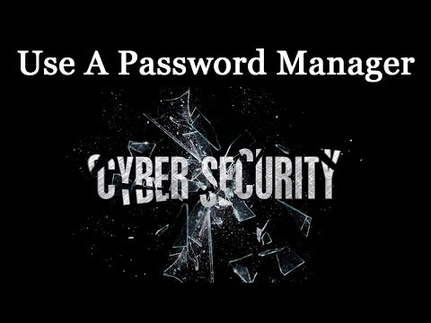 Use a Safe Password Manager & Two-Step Verification & Authentication - Google Authenticator Security
