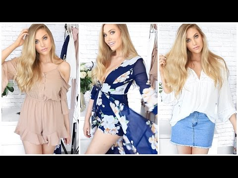HUGE Clothing Haul & TRY ON // SHOWPO  ♥ stephaniemaii ♥ (видео)