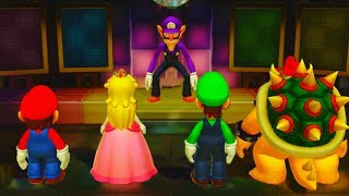 Video Super Mario Party - Minigames - Mario vs Peach vs Luigi vs Bowser MP3, 3GP, MP4, WEBM, AVI, FLV Mei 2019