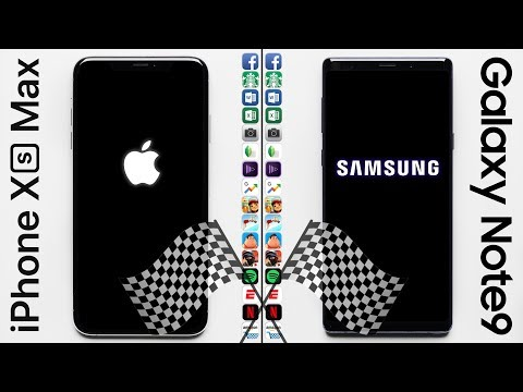 Video iPhone XS Max vs. Galaxy Note 9 Speed Test download in MP3, 3GP, MP4, WEBM, AVI, FLV January 2017