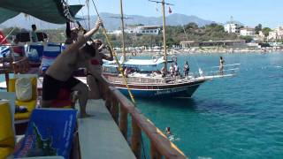 Kyrenia Cyprus  City new picture : Kyrenia Harbor boat trip North Cyprus 2011