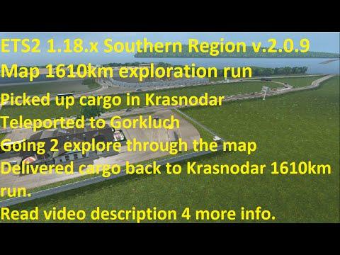 Southern Region v2.0.9 Map