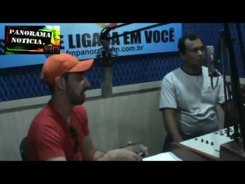 Adriano Jr. e Banda  já estão em Panorama para o show na Praça do Povo