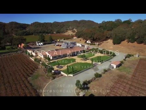 Winery Estate in Hopland, CA For Sale