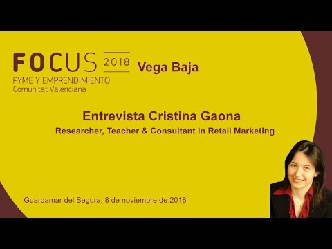 Entrevista Cristina Gaona, Consultant in Retail Marketing, en Focus Pyme Vega Baja[;;;][;;;]