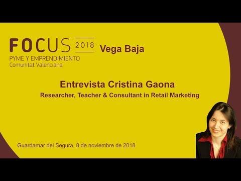 Entrevista Cristina Gaona, Consultant in Retail Marketing, en Focus Pyme Vega Baja